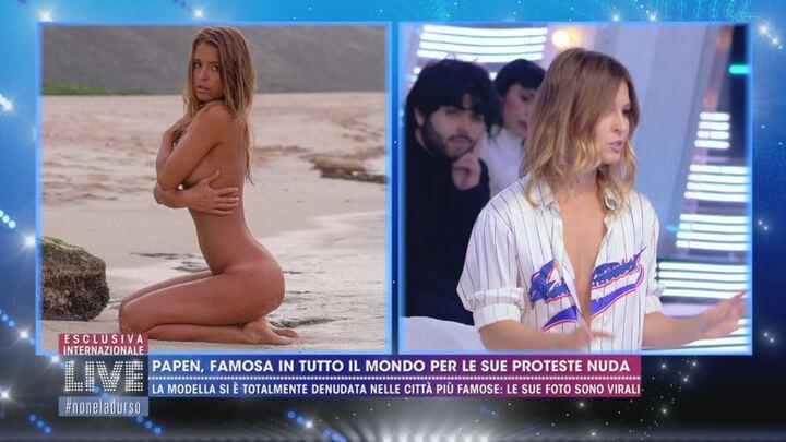 La modella di Playboy posa nuda in una moschea turca: Adesso rischia 3 anni di carcere