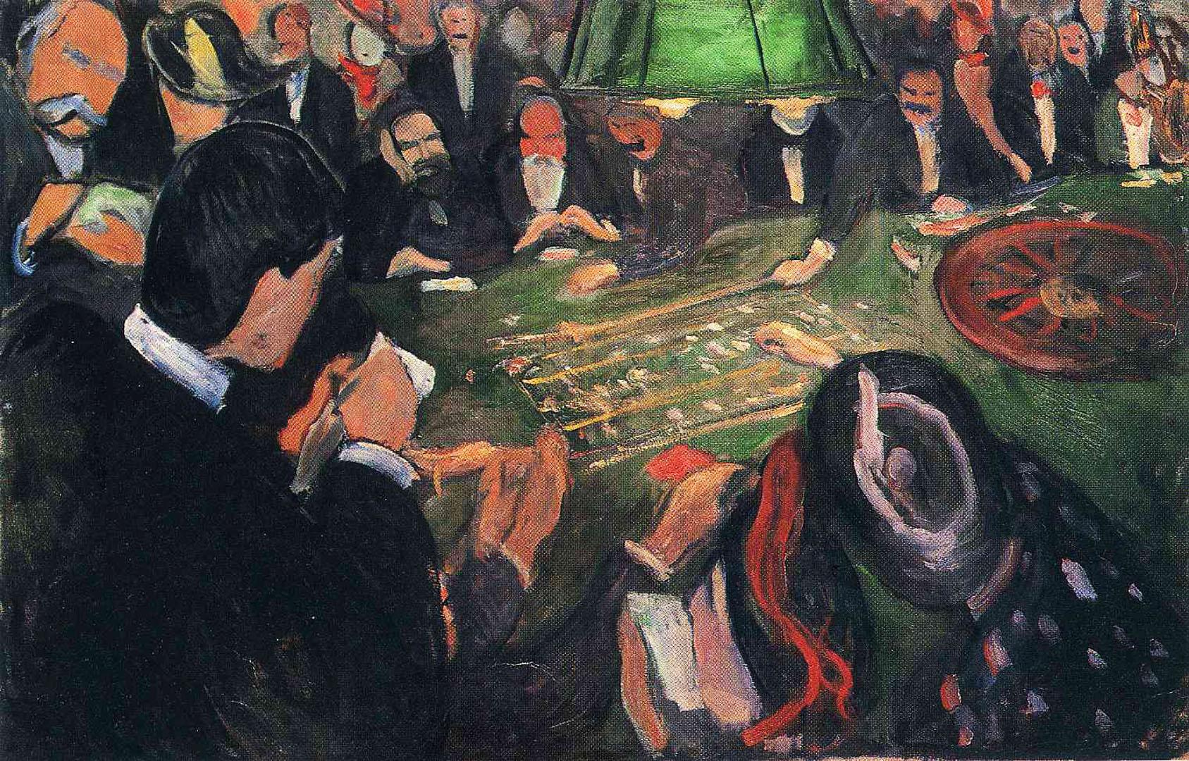Edvard Munch : Al tavolo della roulette a Monte Carlo | Curiosità