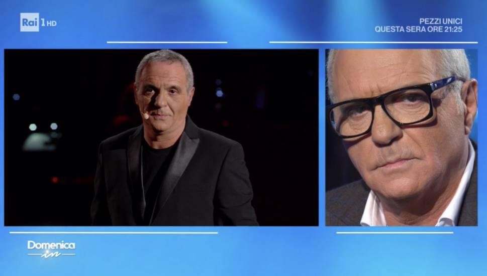Giorgio Panariello in lacrime in tv: Non ho mai conosciuto mio padre