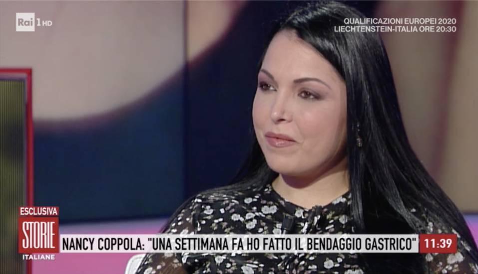 Nancy Coppola |  Col bendaggio gastrico ho perso 5 chili in 8 giorni