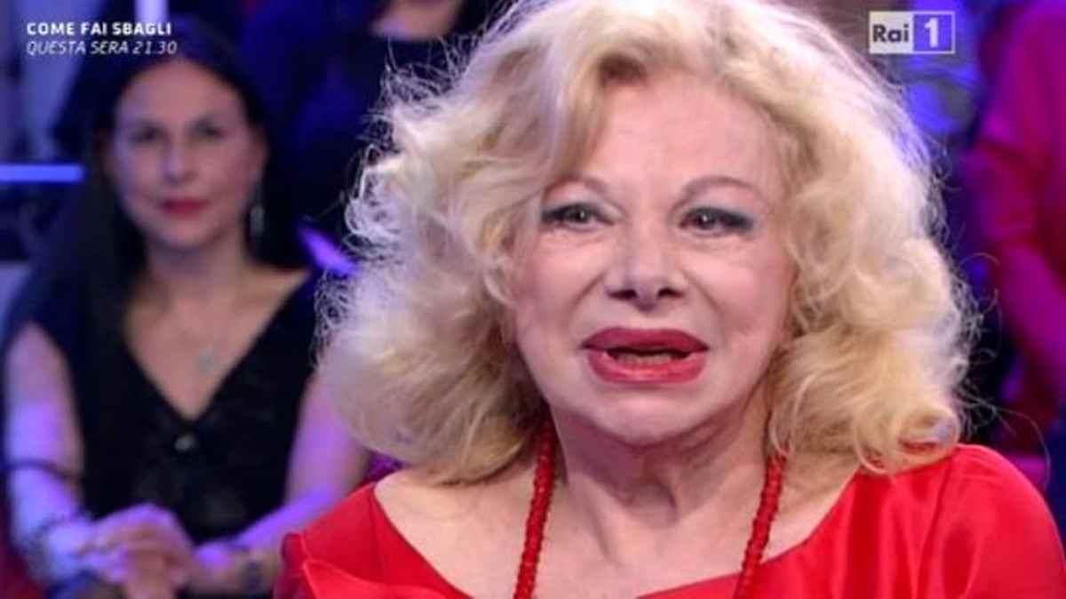 Sandra Milo a Vieni da Me : sotto le coperte sono felicissima