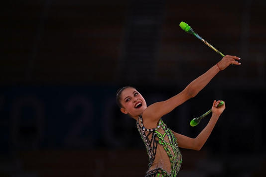 Olimpiadi ginnastica ritmica : Milena Baldassarri sesta - Video