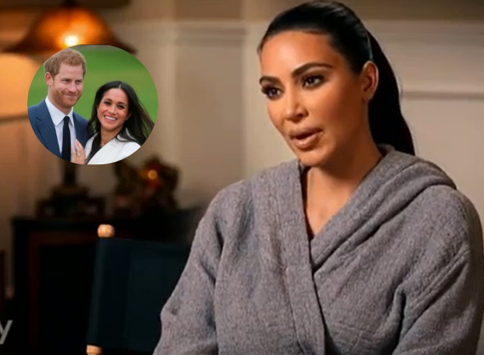 Kim Kardashian |  Capisco la voglia di privacy di Meghan e Harry