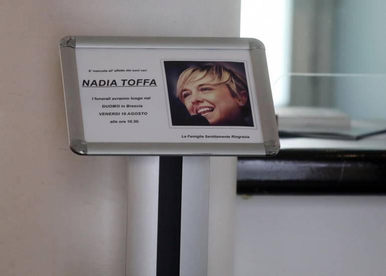 L' ultimo saluto a Nadia Toffa